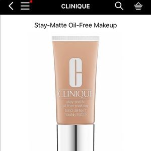 Clinique stay matte in Honey